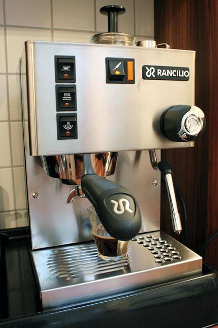 Siebträger Kaffeemaschine für den kleinen Haushalt