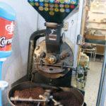 Kaffeeröstung auf der Straße