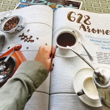 Interview mit Kaffeesommelier Michael Herrling im BROT Magazin Sonderheft Frühstück 09/2018 Bild 2